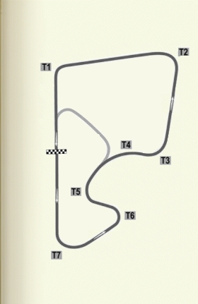 View Printable Track Map